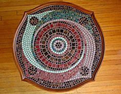 Spiral Mosaic Coffee Table (10% donation to charity)