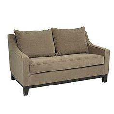 Easy Brownstone Baldwin Loveseat | Living Room Furniture| Furniture | World Market