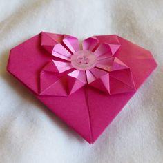 Origami heart £1.50