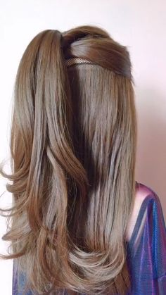 Süße Mädchen Frisuren Cute Girls Hairstyles - Today we're going to do a really, really pretty mi Cute Hairstyles For Teens, Teen Hairstyles, Hairstyle Ideas, Newest Hairstyles, Bohemian Hairstyles, Amazing Hairstyles, School Hairstyles, Elegant Hairstyles, Simple Hairstyle Video