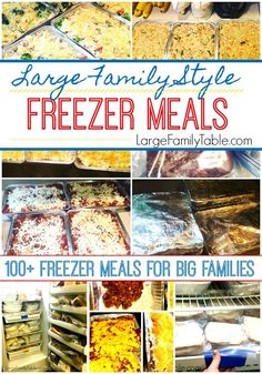 How to Cook 40 Freezer Meals for New Moms in ONE Evening! - Large Family Table Freezer Meals families Freezer Meals for one Freezer Meals for two Freezer Meals healthy Budget Freezer Meals, Make Ahead Freezer Meals, Cooking On A Budget, Freezer Cooking, Frugal Meals, Cheap Meals, Meals For One, Cheap Large Family Meals, Inexpensive Meals