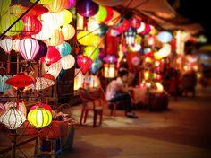 Bright lanterns