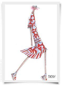 Image result for fashion illustration playful fun