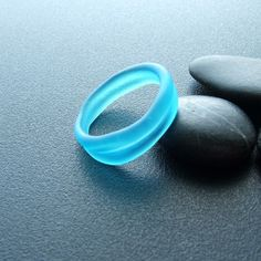 sea glass ring... what a find