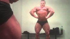 Brad Rowe 7.5 weeks out posing