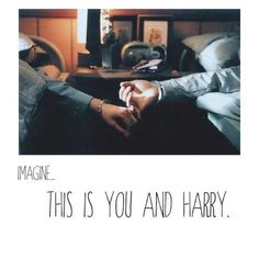 Harry imagine<<<<we'd better be married, then, to even be sleeping in the same room together!