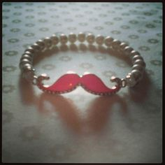 Mustache Monday .... measures 9 1/2 inches ... newly listed on Etsy