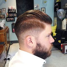 Barber Open Sunday : My man, my man on Pinterest Sailor Jerry, Beards and Pompadour