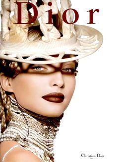 Christian Dior Cosmetics, Fall 1999Model: Kristina Semenovskaia