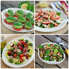 Here are six easy paleo summer salads  including my all-time favorite. All are gluten-free, grain-free and dairy-free.