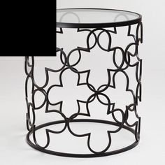 Clover Drum Table