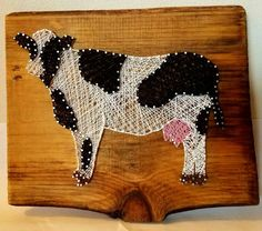 Hey, I found this really awesome Etsy listing at https://www.etsy.com/listing/507509065/cow-string-art
