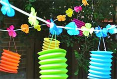Luau Decor - Bring the tropics to your luau party with these décor ideas - Articles- SavvyMom.ca