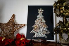 We can make shine your Christmas fireplace.  This huge Christmas tree  will be your perfect decoration! You'll love it . We are sure!!!  For orders: elly0291@yahoo.it #christmastree #gift #christmas gift #christmas #perfect gift #jewelled christmas tree