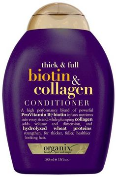 Organix Thick & Full Biotin & Collagen Conditioner! EXPENSIVE BUT BEST STUFF ON EARTH!!! smells AMAZING
