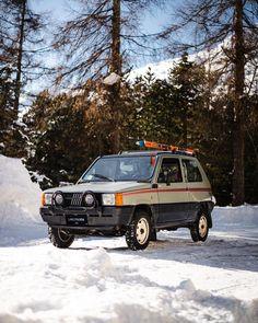 Fiat Panda, St Moritz, Richest In The World, Retro Cars, Modern Classic, Sunnies, Vehicles, Skiing, Porn