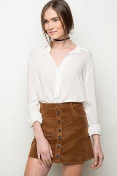1de773dff9 24 Best Corduroy skirt images