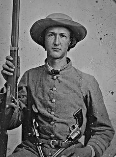 https://flic.kr/p/Dnfvhi | Virginia Cavalry Regiment Soldier 1862 (LOC)