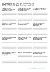 feelings and emotions worksheets for adults pdf