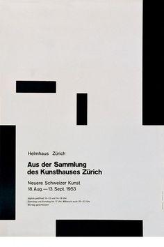 Josef Müller-Brockmann - Portrait du plus grand graphiste suisse ! Layout Design, Graphisches Design, Swiss Design, Graphic Design Layouts, Design Blog, Graphic Design Posters, Graphic Design Typography, Graphic Design Inspiration, Book Design