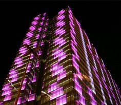 Dexia Tower - Um Edifício com Leds - A building with Leds