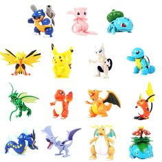 NEW 15 styles Pocket Pikachu Minifigure Action Figures Assembled toys Monster Venusaur Scyther Charizard Dragonite Xmas gift #>=#>=#>=#>=#> Click on the pin to check out discount price, color, size, shipping, etc. Save and like it!