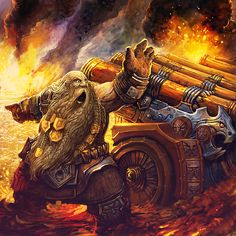 Engineer: Dwarf Gunner by AlexBoca.deviantart.com on @DeviantArt