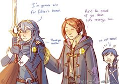 """  Anonymous said:  How do you feel about Lucina and Male Robin being in the new smash bros? "" I don't know about Male Robin, but I'm pretty excited to use fem!Robin in this one! It's like have my dumb family back again, ready to fight! (And Lucina,..."
