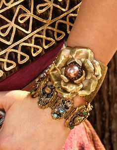 Gypsy Rose Cuff - from Junk Gypsy.