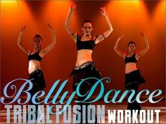 The Bellydance Tribal Fusion Workout DVD with Irina - Looks like fun
