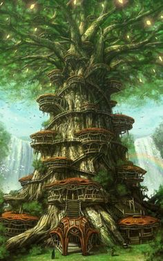 The great tree in Jurnon. The place where the tribal chief and his closest advisors live. Also used as a base of operations.
