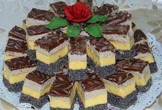 Prăjitură Orhideea, un dulce unic si special Poppy Cake, Cake Recipes, Dessert Recipes, Romanian Food, Hungarian Recipes, Food Cakes, Diabetic Recipes, Coco, Nutella