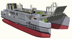 Lanchas de desembarco L-CAT Francesas para los Mistral de la Armada Rusa