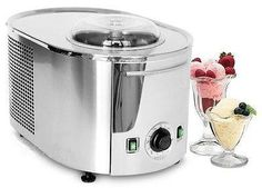 See how the Musso Lussino ice cream maker can make up to quarts of ice cream in less than 30 minutes. Buy this Musso Lussino machine at in Coffee! Ice Cream Mix, Ice Cream Brands, Make Ice Cream, Homemade Ice Cream Ingredients, Homemade Ice Cream Machine, Gelato Machine, Gelato Maker, Frozen Drinks, Frozen Desserts