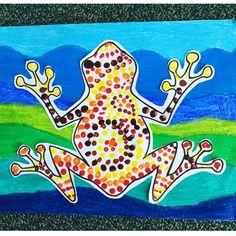 Kicking NAIDOC week off with some Tiddalick painting! Aboriginal Education, Indigenous Education, Aboriginal Culture, Indigenous Art, Naidoc Week Activities, Frog Activities, Harmony Day, Aboriginal Dreamtime, Frog Theme