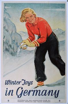 Winter Joys Germany (1934)    Artist : Paul Helwig