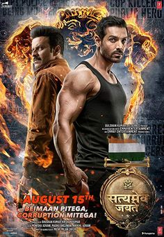 Posters - Satyameva Jayate starring John Abraham, Manoj Bajpayee and Aisha Sharma Their true grit and resilience will win over all evil in Ab Beimaan Pitaga Corruption Mitega. Produced by and The film is directed by Milap Milan Zaveri. Hindi Movies, Movies To Watch Hindi, Bollywood Movies, Bollywood Movie, Hindi Movies Online, Movies Online, Streaming Movies