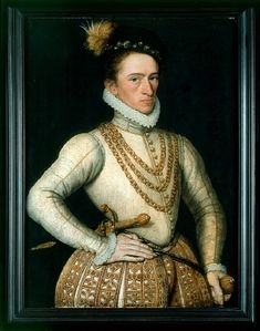 Anonymous French Artist, Portrait of an unknown French Nobleman Elizabethan Costume, Elizabethan Era, Elizabethan Fashion, Historical Costume, Historical Clothing, Historical Art, 16th Century Fashion, 17th Century, Google Art Project