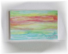 Acrylmalerei - Kunstgalerie Winkler Taschenkunst # 22 Unikat Neu - ein…