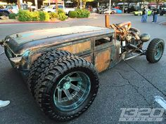 The perfect fusion of... Steampunk + Dieselpunk meets Rat Rod. The body work and attention to detail on this build is awesome. The inspiration for this creation would have to be one of my all time favorites 'Weld it up Cummins'. Found via - jeeper8219.tum