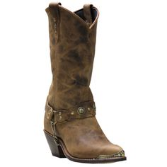 """Sage Boots by Abilene Women's 11"""" Concho Western Boots"""