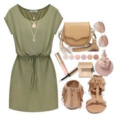 """""""Casual Dress"""" by jilld727 ❤ liked on Polyvore featuring Qupid, Rebecca Minkoff, Deborah Lippmann, By Terry, Bobbi Brown Cosmetics, Valentino and H&M"""