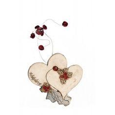 ΔΙΠΛΕΣ ΚΑΡΔΙΕΣ Decoupage, Hearts, Clay, Decoration, Inspiration, Wire, Kunst, Clays, Decor