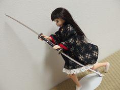 ニンジャ武器シリーズ 「旋風剣」 忍者っぽいかといわれるとむずかしいけど、まだわかるレベル。