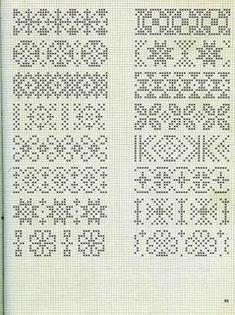 жаккарды спицами схемы: 3 тыс изображений найдено в Яндекс.Картинках Cross Stitch Bookmarks, Cross Stitch Borders, Crochet Borders, Cross Stitch Charts, Cross Stitch Designs, Cross Stitch Embroidery, Cross Stitch Patterns, Fair Isle Knitting Patterns, Knitting Charts