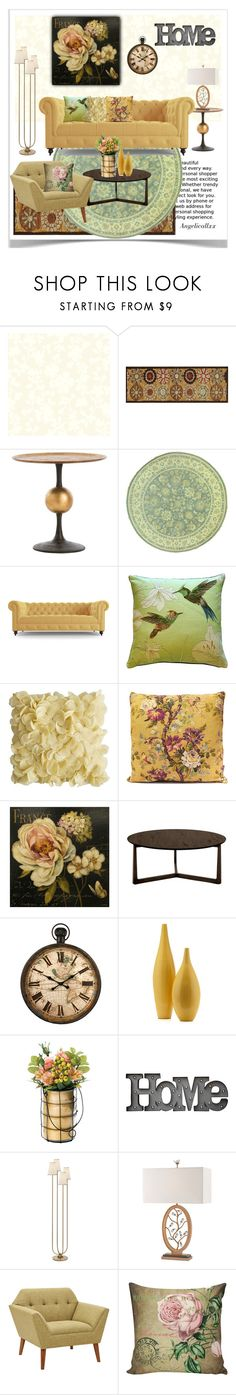 Innenarchitektur York family room by drenise liked on polyvore featuring