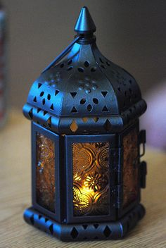 this is  a Moroccan style lantern