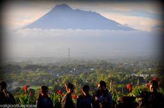Indonesia, Gunung Merapi, uno dei vulcani più attivi dell'isola di Java