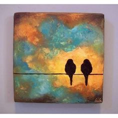 birds painting - Google Search