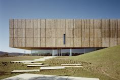 Exhibition Room, Architectural Materials, Land Art, Portuguese, Archaeology, Architecture Design, Design Inspiration, Wood, Places